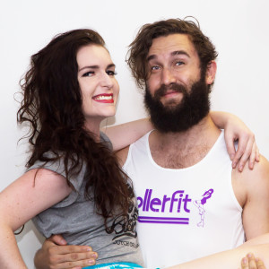 Matt and Amelia RollerFit