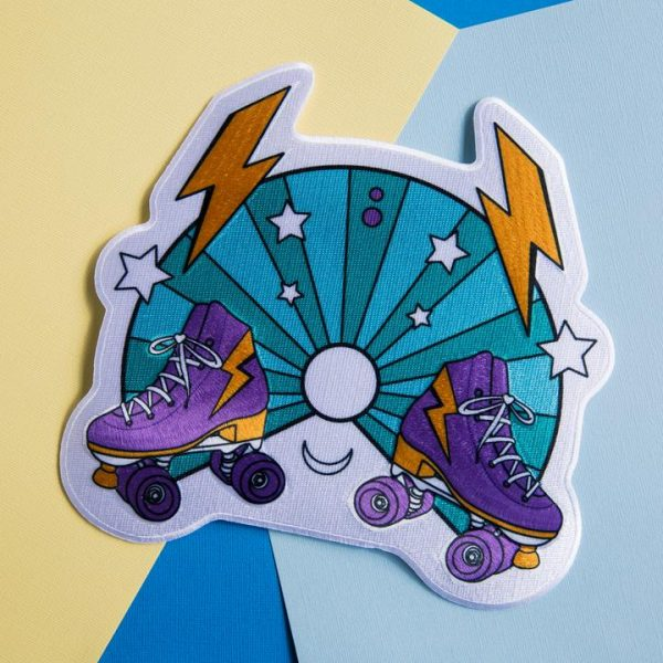 RollerFit - Mega Stardust Back Patch